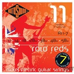Rotosound R11-7 Roto Reds Electric, 7-String, Medium, 11-58