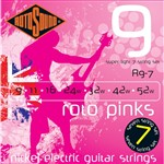 Rotosound R9-7 Roto Pinks Electric, Super Light, 9-52