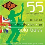 Rotosound RS555LD Solo Bass, Long Scale, Standard, 5-String, 45-130