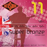 Rotosound SB11 Super Bronze Acoustic, Light, 11-52