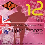 Rotosound SB12 Super Bronze Acoustic, Medium Light, 12-54