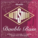 Rotosound RS4000 Double Bass, Monel Flatwound, Super High Burnished