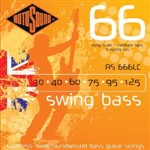 Rotosound RS666LC Swing Bass 66, Long Scale, Medium, 6-String, 30-125