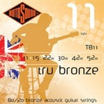 Rotosound TB11 Tru Bronze Acoustic, Light, 11-52