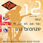 Rotosound TB12 Tru Bronze Acoustic, Medium Light, 12-54