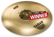 Sabian AAX ISO Crash (18in, Brilliant)