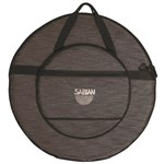 24 Heathered Black Cymbal Bag