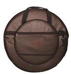 24 Vintage Brown Cymbal Bag