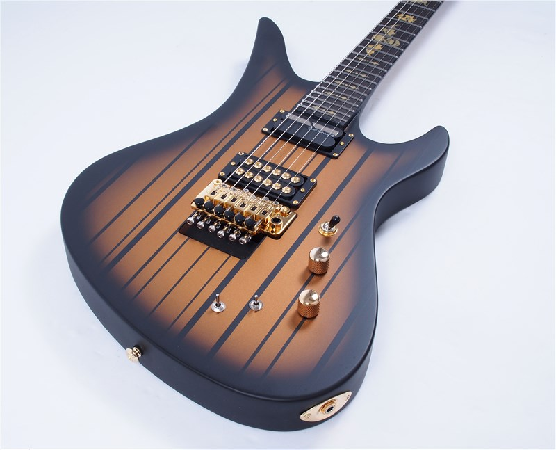 Schecter Synyster Gates Custom S Sustainiac Satin Gold Burst