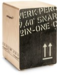Schlagwerk 2inOne Cajon (Black Edition, Medium) - CP 403 BLK