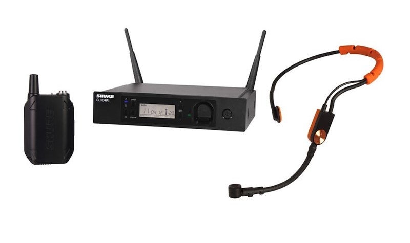 Shure GLXD14R Headset System With SM31