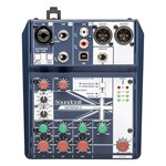 Soundcraft Notepad 5 Analog USB Mixer main