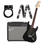 Squier Affinity Fat Strat HSS Bundle