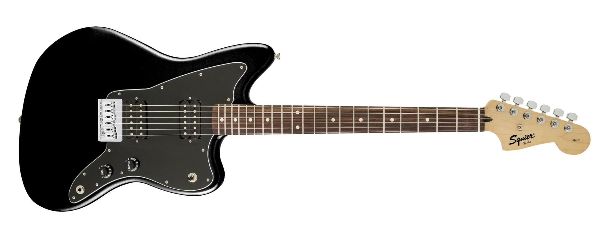 Squier Affinity Series Jazzmaster Hh Electric Guitar Black