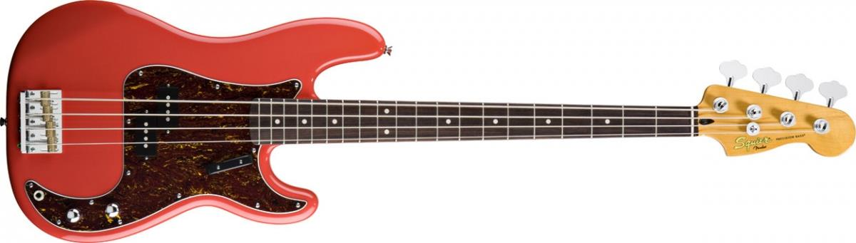 Squier Classic Vibe Precision Bass '60s (Fiesta Red)