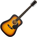 Squier SA-105 Acoustic Guitar Pack (Sunburst)