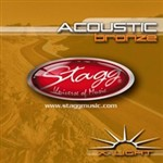 Stagg AC 1048 BR Extra-Light Bronze