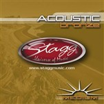 Stagg AC 1356 BR Medium Bronze