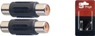 Stagg AC Female Phono to Female Phono Adapter (2 Pack) - AC-CFCFH