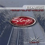 Stagg BA4000 Bass Nickel Round Wound