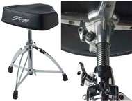 Stagg DT-220RM Motorcycle Throne (Vinyl Top)