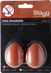 Stagg Egg Shakers (Orange, Pair)