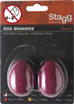 Stagg Egg Shakers (Red, Pair)