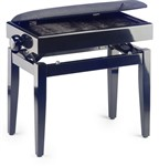 Stagg PB55 Adjustable Piano Bench with Storage (Black Highgloss)