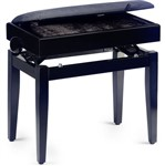 Stagg PB55 Adjustable Piano Bench with Storage (Matt Black)
