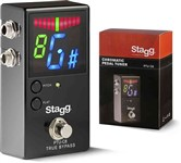 Stagg PTU-C8 Chromatic Tuner Pedal