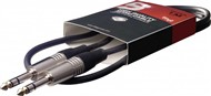 Stagg SAC1PS DL Balanced Stereo Jack Cable, 1m/3ft