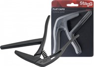 Stagg SCPX FL Classical Guitar Capo (Black)