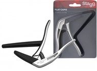 Stagg SCPX FL Classical Guitar Capo (Chrome)