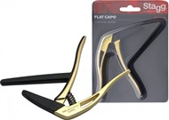 Stagg SCPX FL Classical Guitar Capo (Gold)