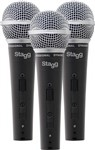 Stagg SDM50 Microphone (3-Pack)