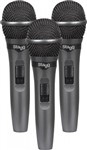 Stagg SDMP15-3 (3-Pack) Microphones