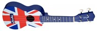 Stagg US-UK Union Jack Ukulele with Bag