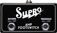 Supro FS2 Tremolo/Reverb Footswitch Main