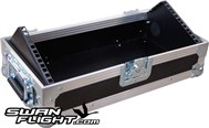 4U Sloped Mixer Flight Case