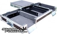 Swan Flight Coffin 2x Numark NDX500 CD Players & Mixer