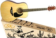 SX 3560 Dreadnought Acoustic Pack Natural Main