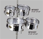 Tama MT68ST 6in & 8in Steel Mini Tymps Drums