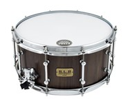 Tama LGW1465-MBW SLP Walnut Snare Drum, 14x6.5in, Matte Black