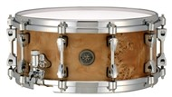 Tama Starphonic 14x6in Maple Snare, Satin Mappa Burl