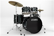 Tama RM52KH5WC Rhythm Mate 5 Piece Complete Kit, Charcoal Mist