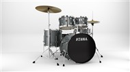 Tama RM52KH5WC Rhythm Mate 5 Piece Complete Kit, Galaxy Silver