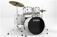 Tama RM52KH5WC Rhythm Mate 5 Piece Complete Kit, White