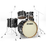 Tama VD52KRS Silverstar Custom 5 Piece Shell Pack (Brushed Charcoal Black)