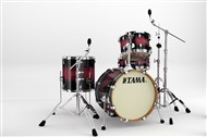 Tama VP48S Silverstar Custom Jazz 4 Piece Shell Pack (Transparent Red Burst)