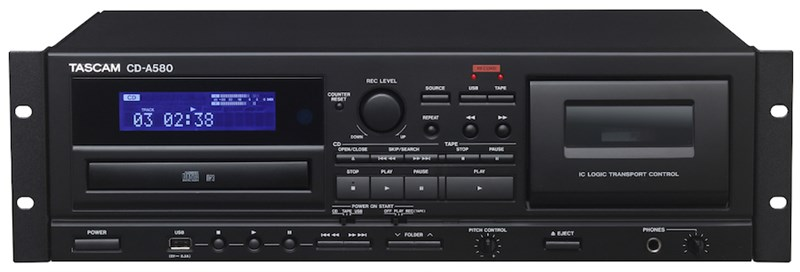 Tascam CD-A580 Main